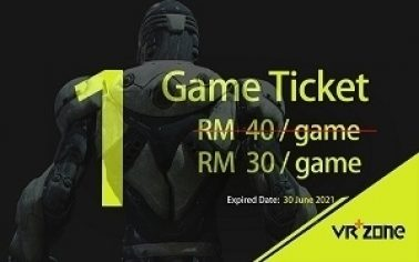 one game tickets RM30
